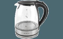 Emerio Wk 108084 Wasserkocher Glas Schwarz Inox 2200 Watt