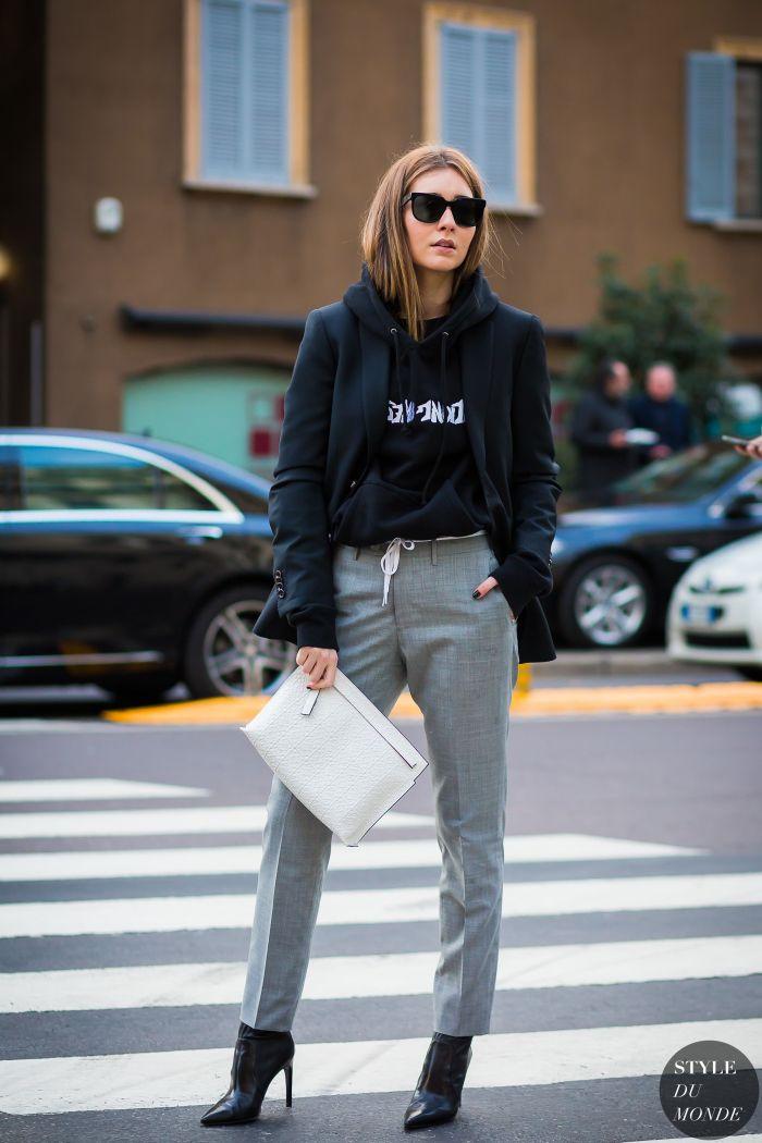 Chiara Capitani Street Style Street Fashion Streetsnaps by STYLEDUMONDE Street Style Fashion Photography