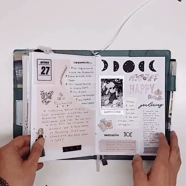 Bullet Journal Flip through