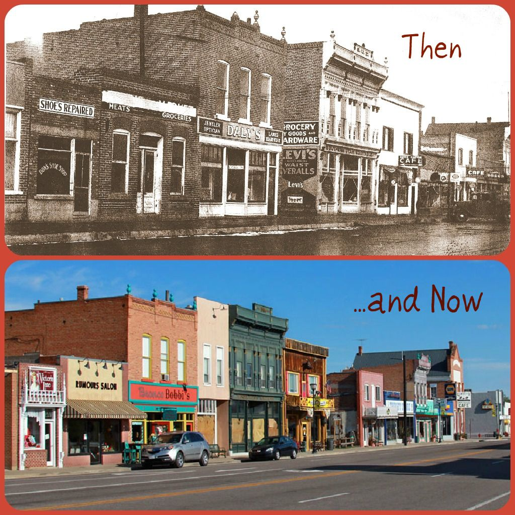 Panguitch Utah Main Street Then 1935 And Now Panguitch Panguitch Utah Beautiful Places On Earth