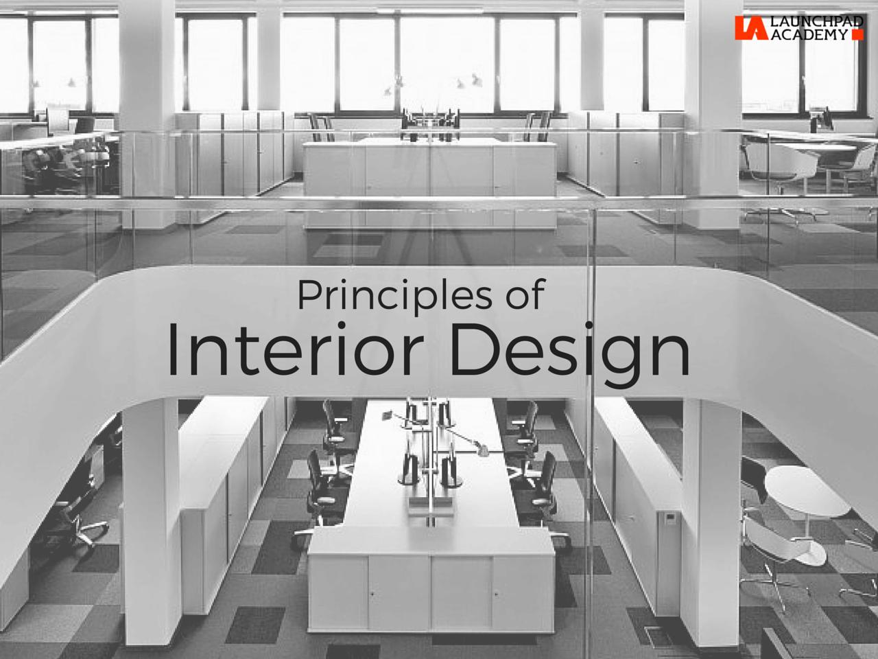 Interior Design Has 7 Principles Namely Unity Balance Rhythm Emphasis Contrast Scale