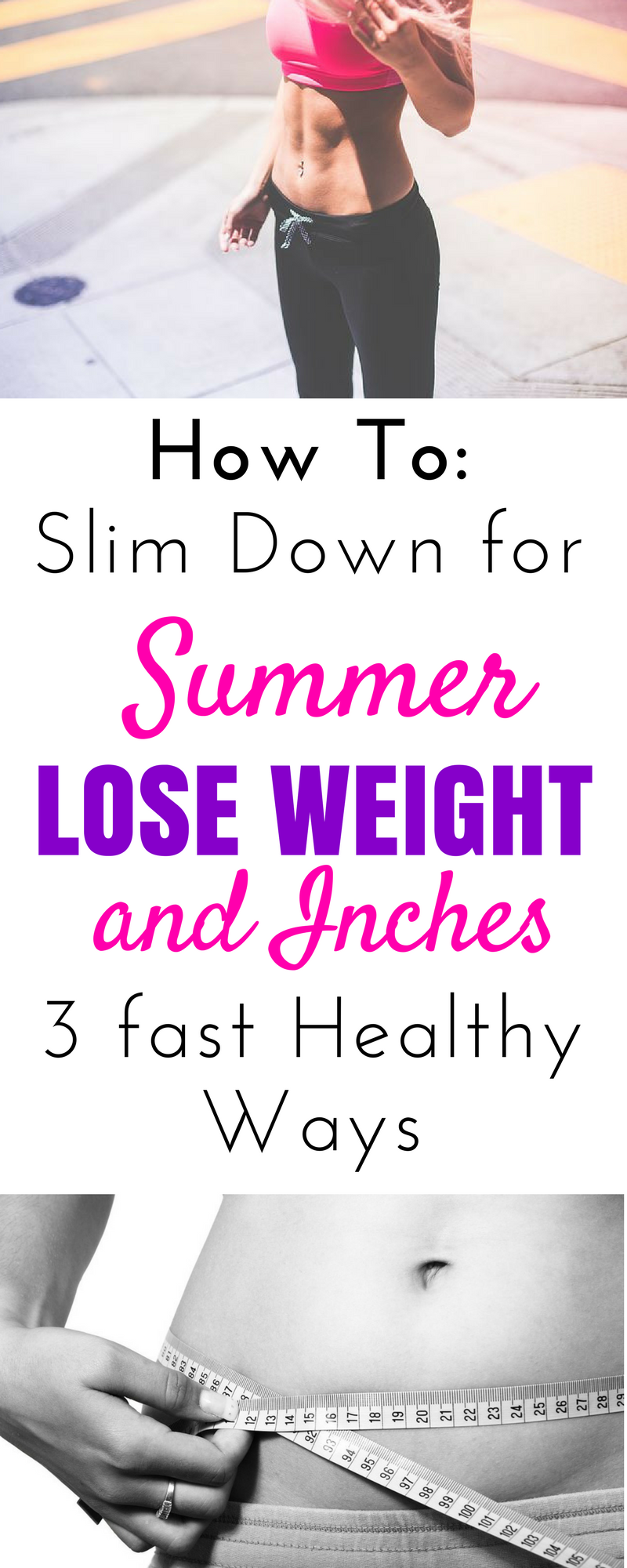 How to lose weight in 3 days without exercise and diet