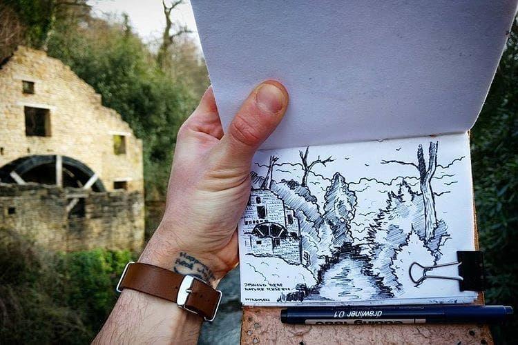 🌲 • •• ••• •••• #doodle #art #illustrator #illustration #sketch #sketchbook #instaart #drawing #blackworkers #draw #bw #artpostdaily #dailydrawoff #blackworkers #ink #dotwork #lineworktattoo #tattoo #illustrative #iblackwork #mountainart #рисунок #trees #sharpie #sketching #comics #weekend #woods #weekendvibes #forest