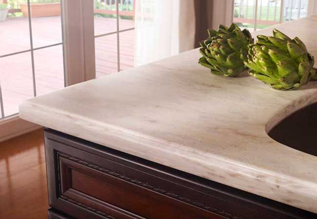 Witch Hazel Corian Countertop With