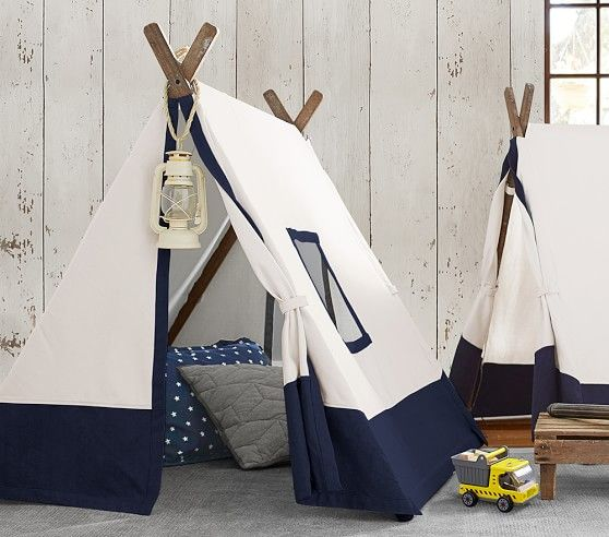 Navy A Frame Tent In 2019 Kids Playroom Furniture Baby