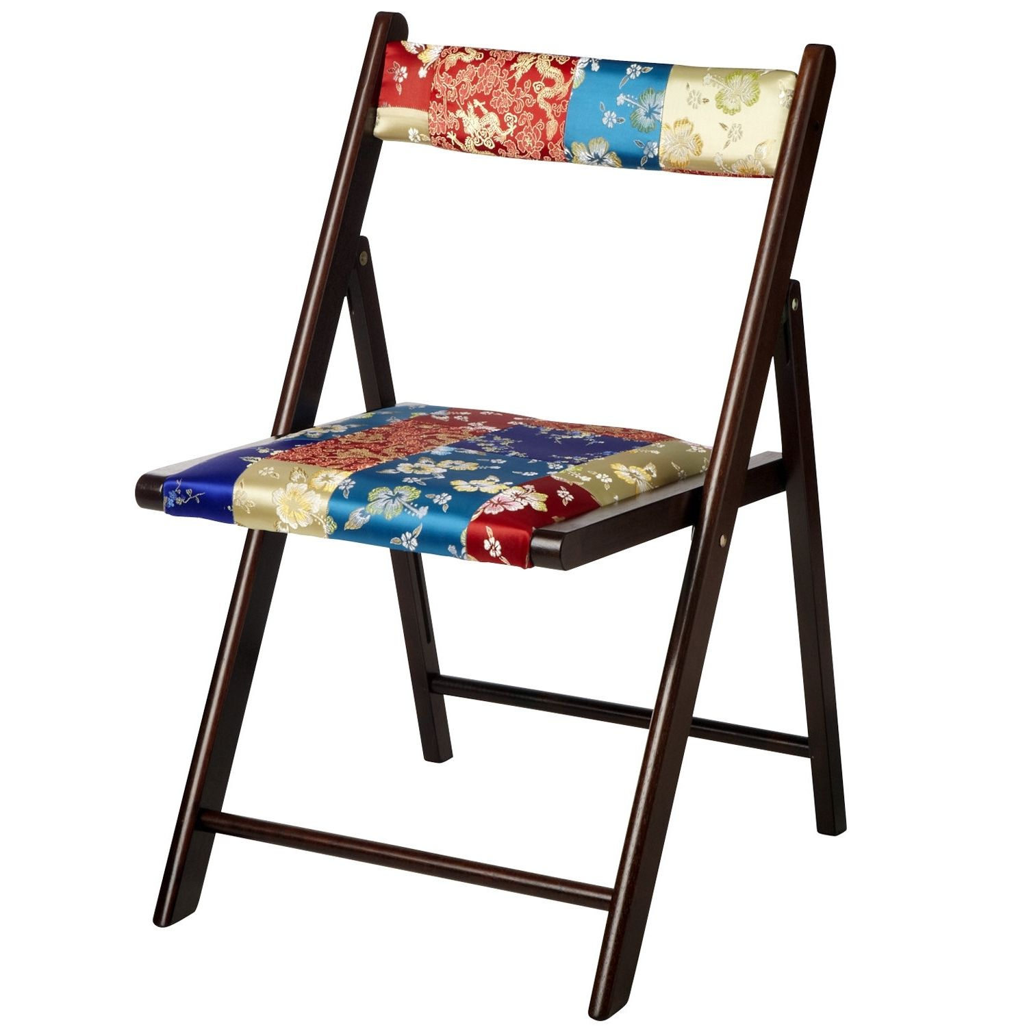Beau Pier One Wooden Folding Chairs