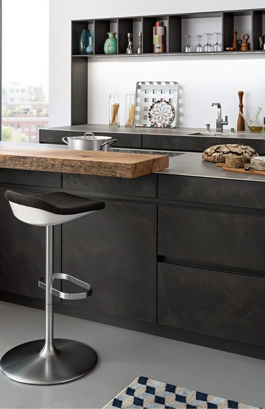 Concrete a concrete modern style kitchen kitchen leicht modern kitchen design for contemporary living pinterest kitchens decorating kitchen