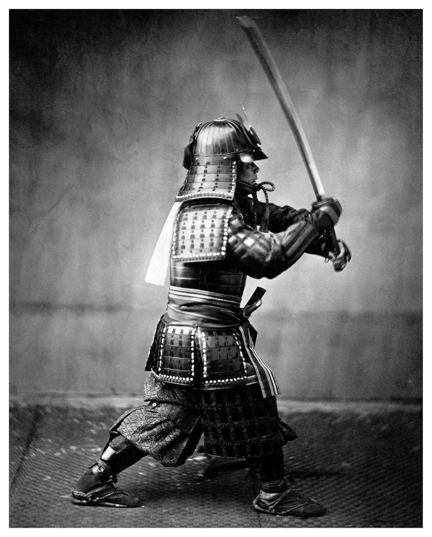 Los últimos guerreros Samurai en singulares fotos del siglo XIX ...