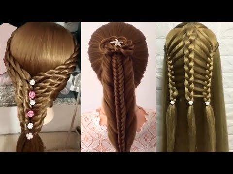 Peinados Faciles Bonitos Y rapidos para niñas 2017  Trenzas faciles
