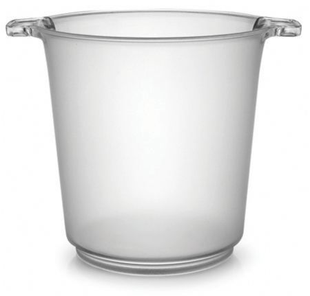 Clear 1 Gallon Ice Bucket 6 Plastic Buckets Ice Bucket Plastic Buckets Wine Ice Bucket