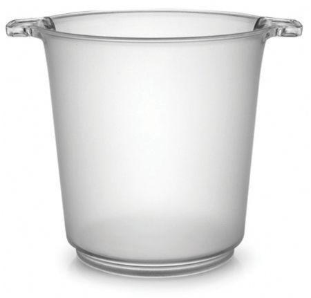 Clear 1 Gallon Ice Bucket 6 Plastic Buckets Ice Bucket Plastic Buckets Wine Ice Bucket