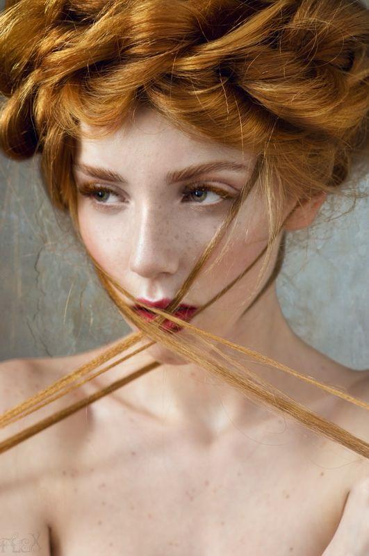 Création, Photographer: Stanislav Istratov MUA: Anna Movchan  Hair: Anna Melya  Style: Nataly Oleynik  www.BigBadRed.com - Image #583457