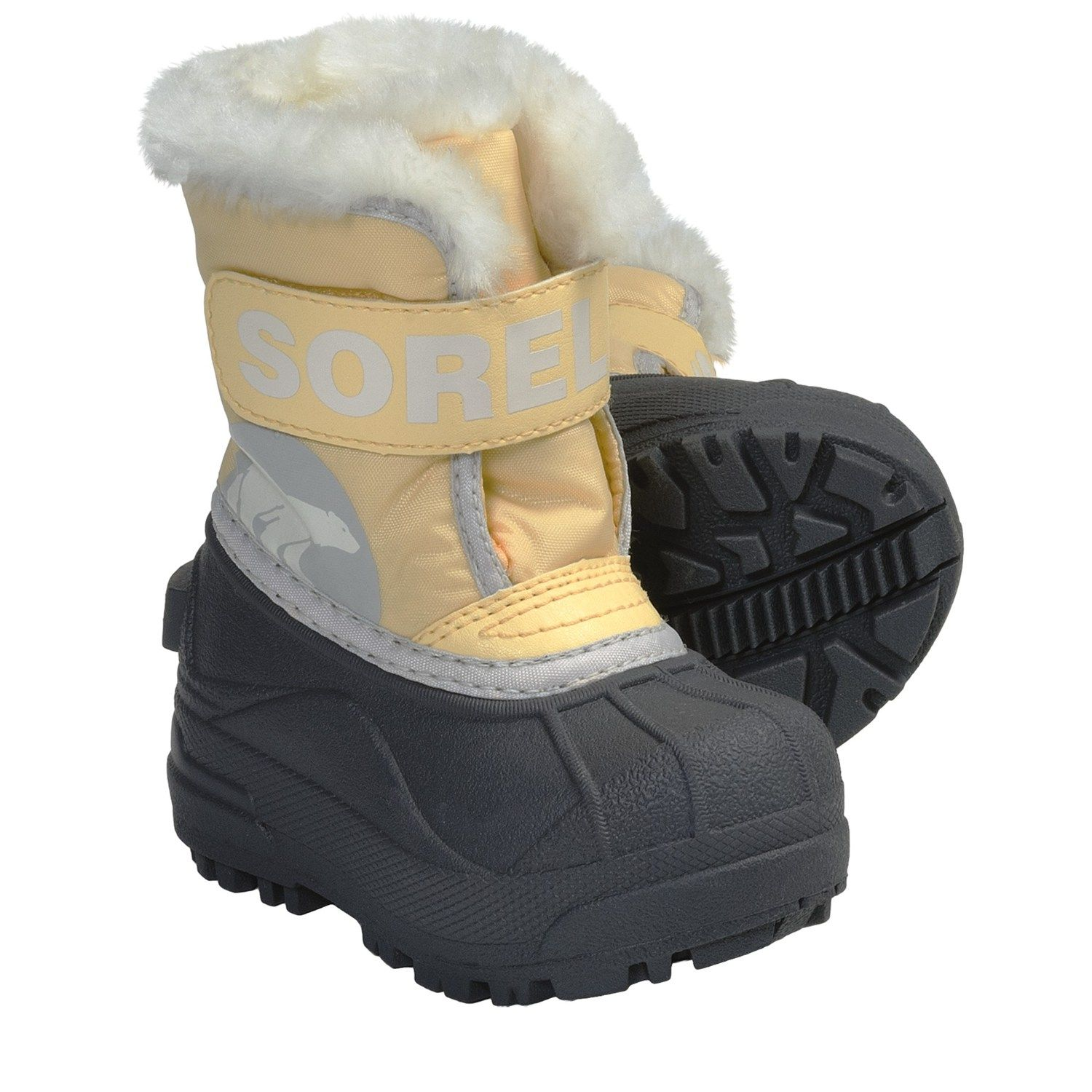 Sorel Snow Commander Winter Boots - Insulated (For Toddlers)