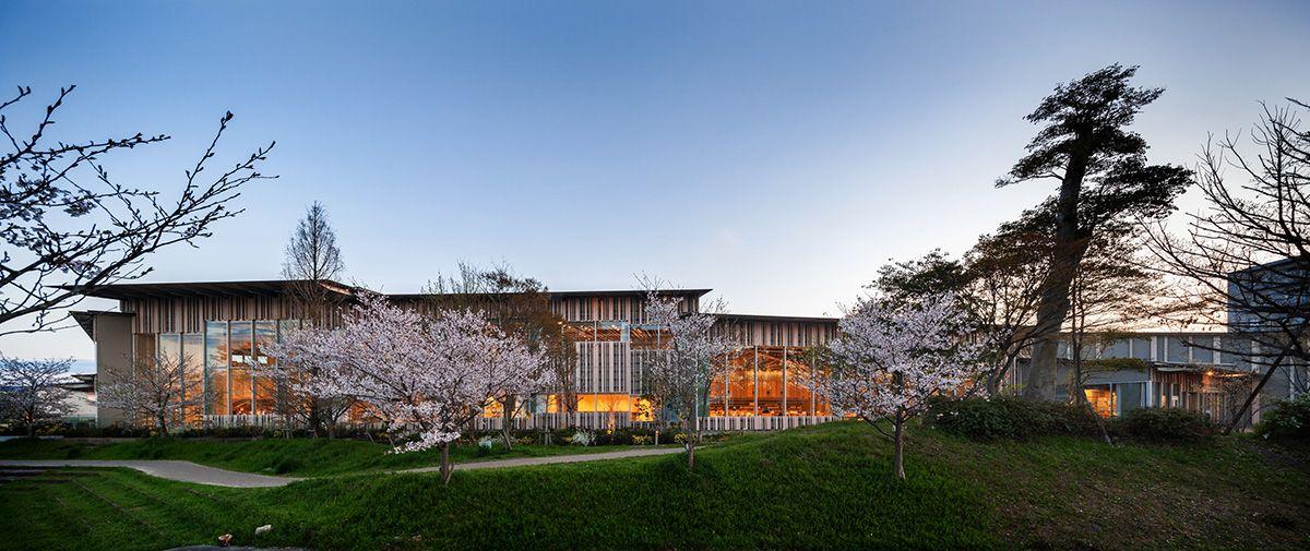 Moriyama City Library 守山市立図書館 横浜 ビル 浅草文化観光センター 増築工事