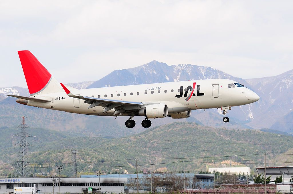 Japan Airlines Fleet Embraer 170 Details and Pictures