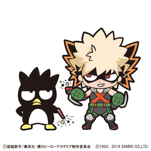 My Hero Academia Characters Show Off Their Adorable Forms in Sanrio Collaboration Campaign