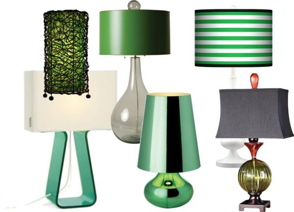 Emerald Green Audrey Brandt S Destination Design Table Lampgreen