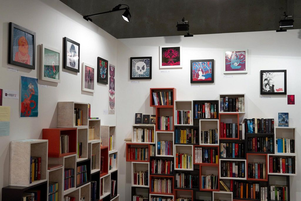 Interior Design and Bookcase ideas at Kunstart 2012
