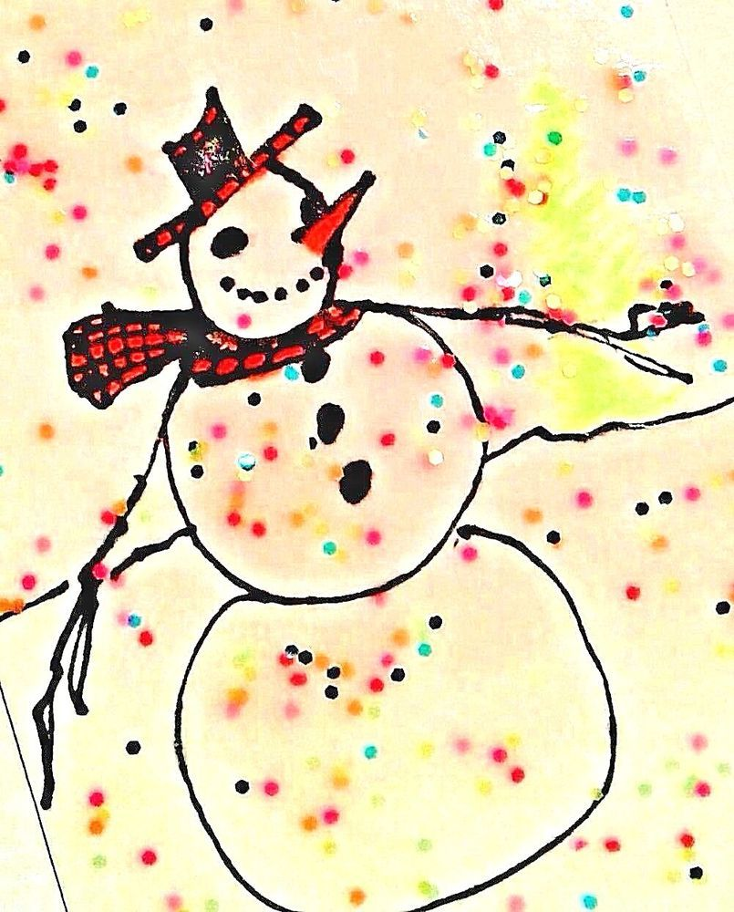 Original aceo nfac dec snow off the wall art | Snow, Originals and ...