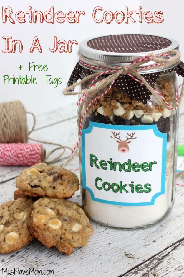 32 Mason Jar Cookie Recipes Mason Jar Cookie Recipes Mason Jar Cookies Mason Jar Cookies Mix