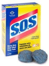 Direct Line Medical - PAD SOAP SOS STLWOOL 2.5D 15EA/PK 12PK/CS SAALFELD, $42.29 hospital medical supplies (http://www.directlinemedical.com/housekeeping/cleaners-disinfectants-deodorizers/pad-soap-sos-stlwool-2-5d-15ea-pk-12pk-cs-saalfeld/)