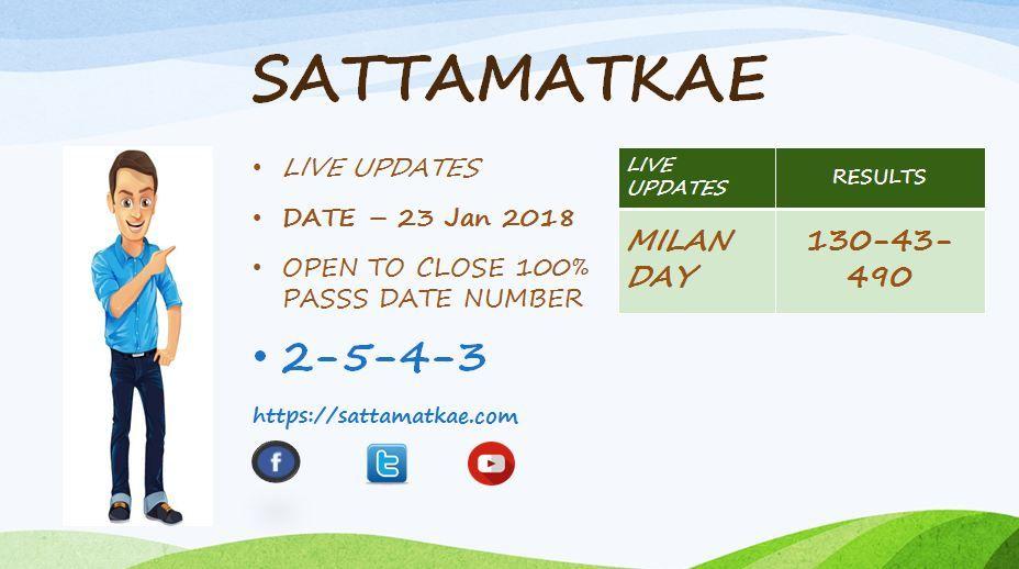 Satta Matka Kalyan Jodi Bazar Chart