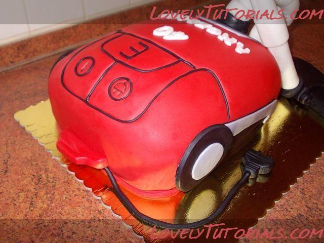 Vacuum Cleaner Cake Cake Tutorials Pinterest Vacuums Cleaning
