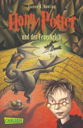 Harry Potter Und Der Feuerkelch Harry Potter Book Covers Rowling Harry Potter Harry Potter Books