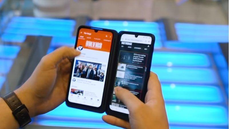 Lg Hat Dual Screen Lg G8x Thinq Vorgestellt Handy Nachrichten Handyvertrag Lg Smartphone