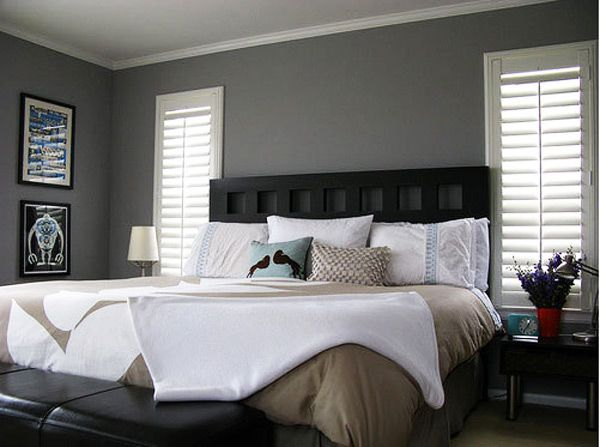 30 Stunning Bedroom Design Ideas in Grey Color Gray color