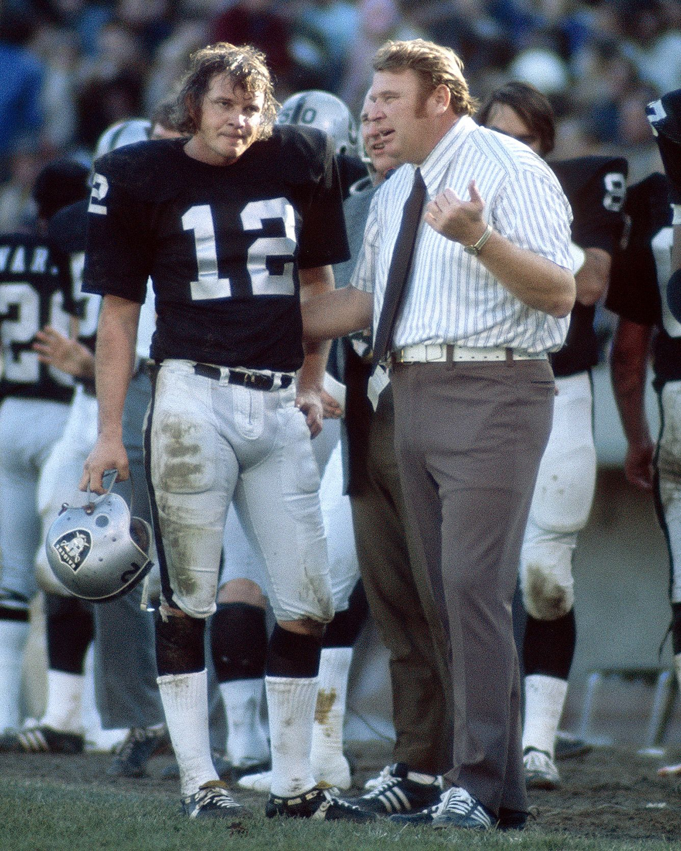 Ken Stabler & John Madden - YES, JOHN MADDEN WAS ONCE A HEAD COACH, AND A PRETTY GOOD ONE TOO!