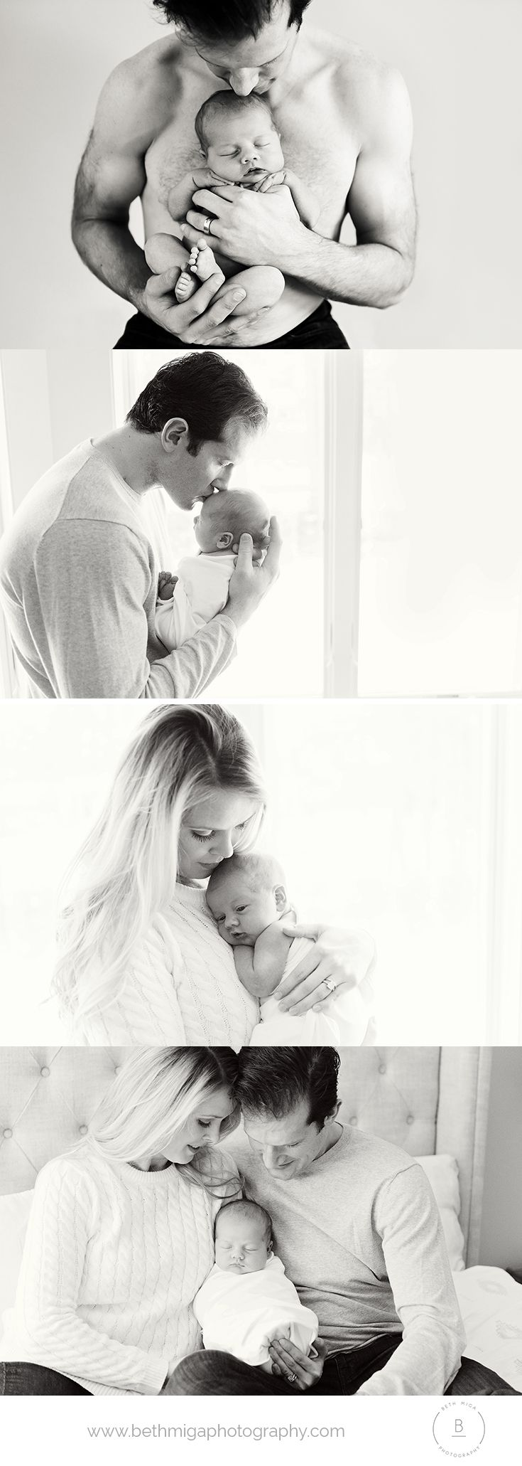 dad and newborn pose ideas | lifestyle newborn session | in home ...