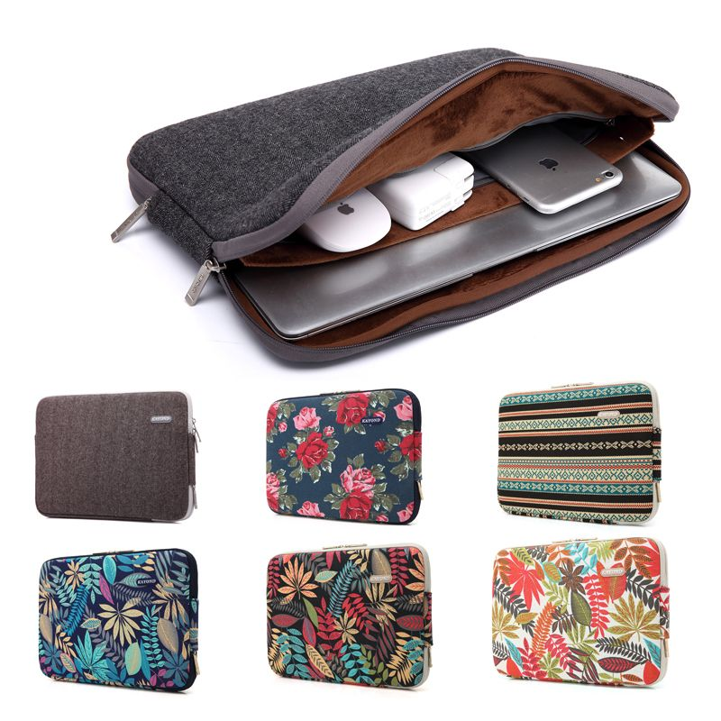 Fashion Bohemian Design Laptop Sleeve Bag For Macbook Air Pro Retina 11 12 13 15 Inch Laptop Cover For Mac Boo Laptop Bag Case Notebook Case Laptop Accessories
