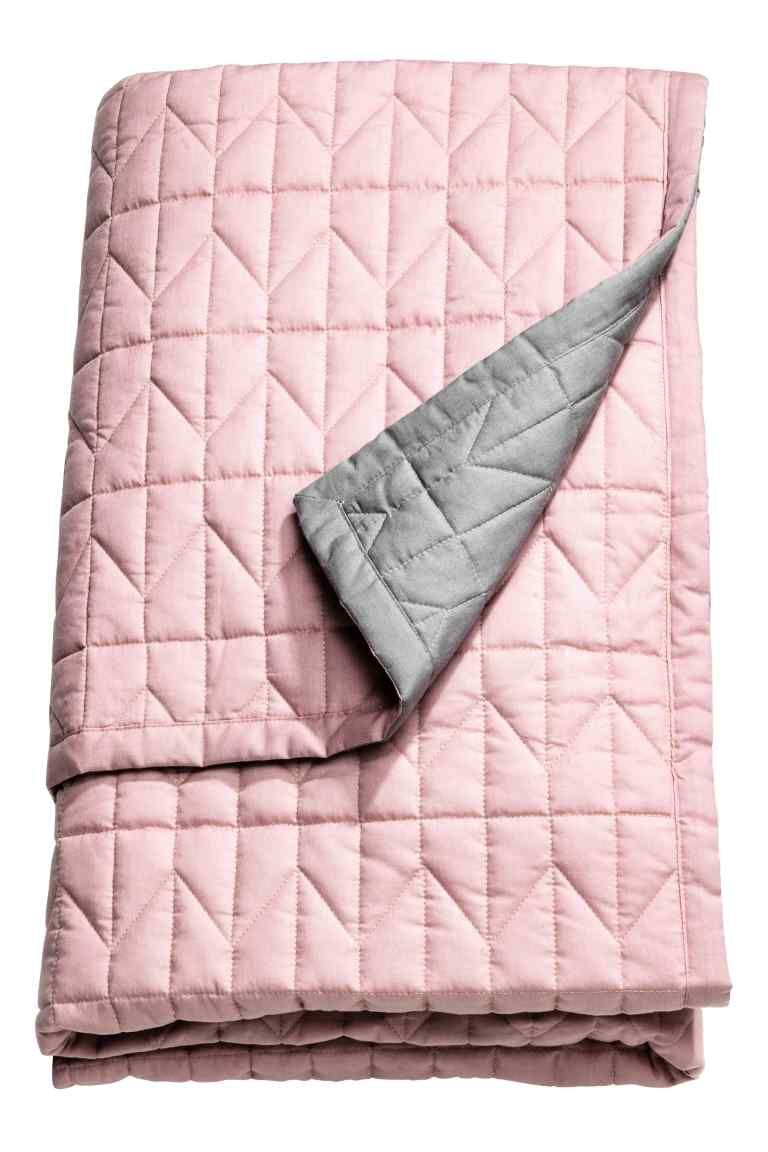 Quilted bedspread double: Double, quilted bedspread in a cotton ... : pink quilted bedspread - Adamdwight.com