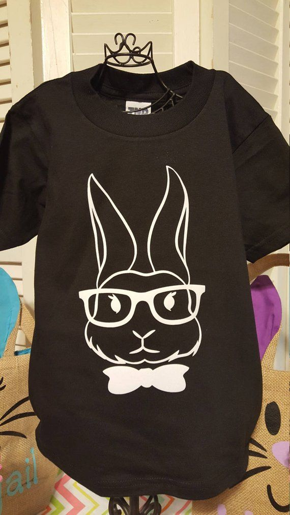 122ef9de Cool Bunny Easter T-Shirt Boys in 2019 | Products | Easter t shirts ...