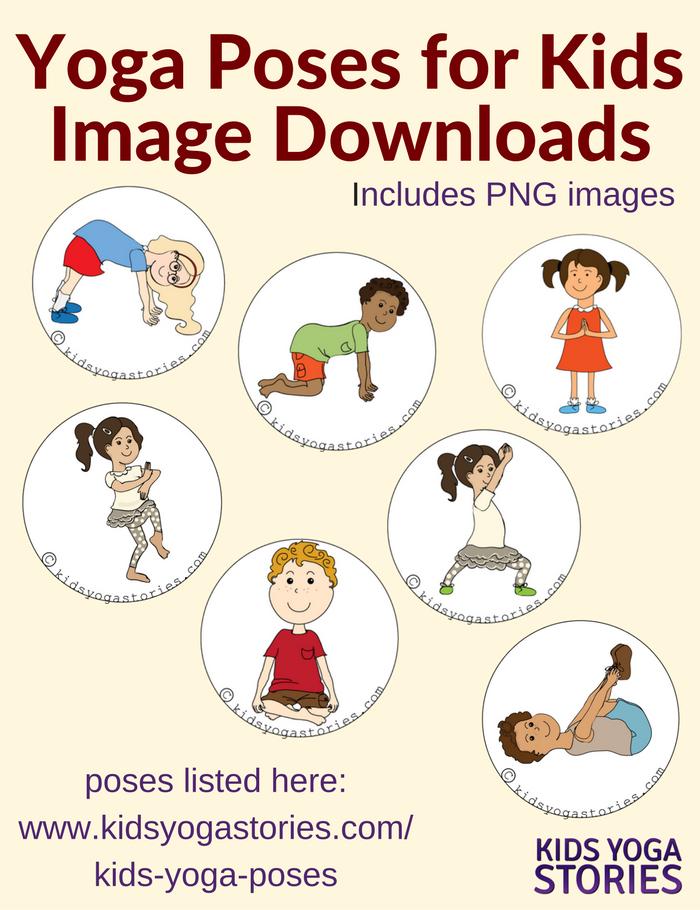 58 Yoga Poses For Kids Yoga For Kids Kids Yoga Poses Yoga Cards