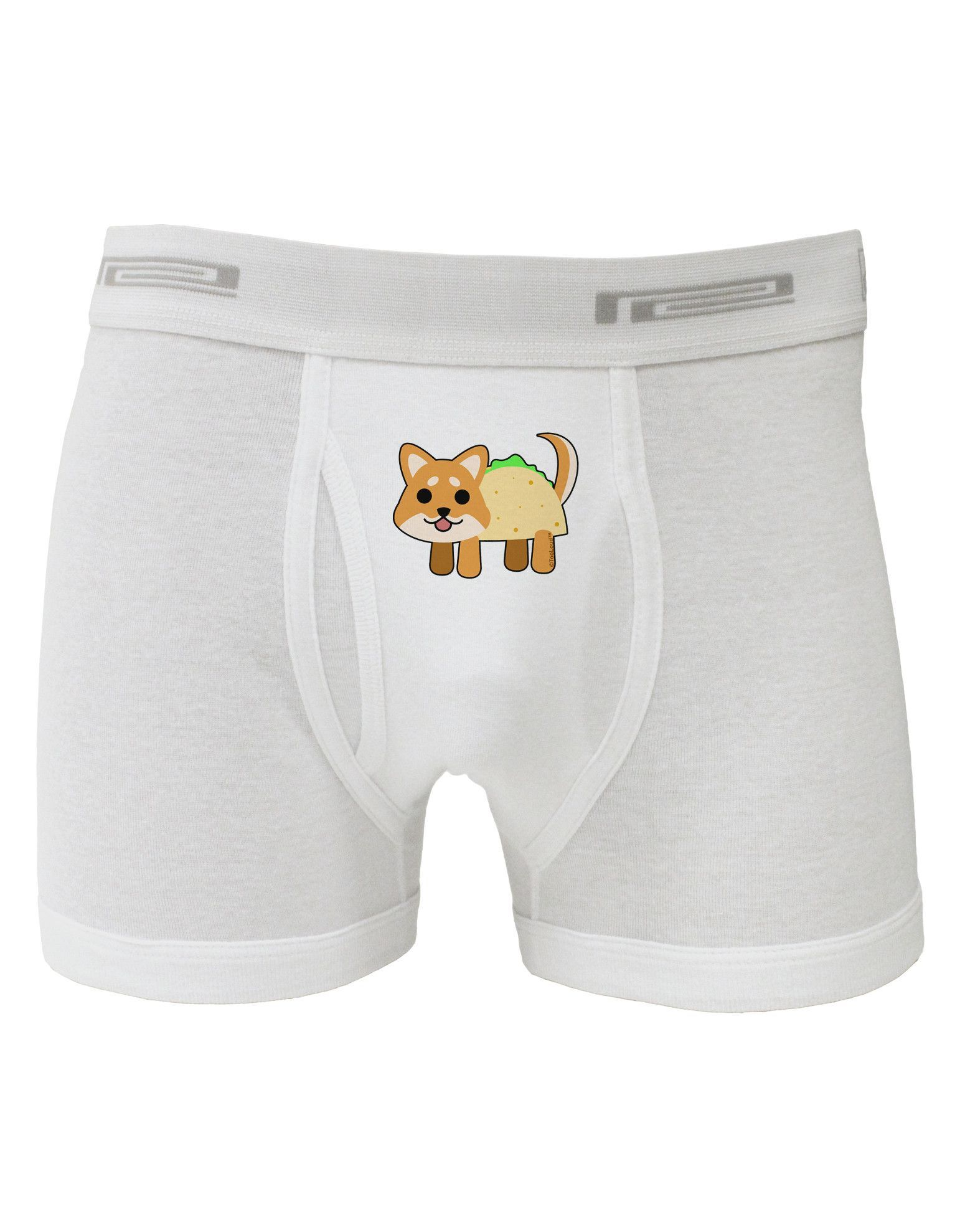 TooLoud Cute Taco Dog Boxer Briefs