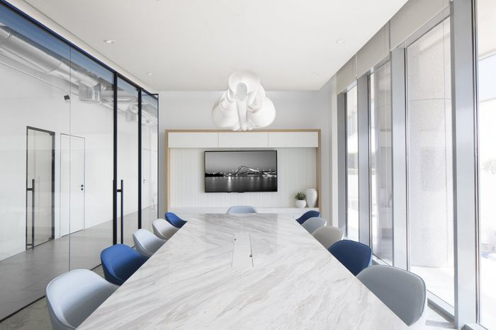 Edelman offices entworfen von pallavi dean interiors for Raumgestaltung prasentation