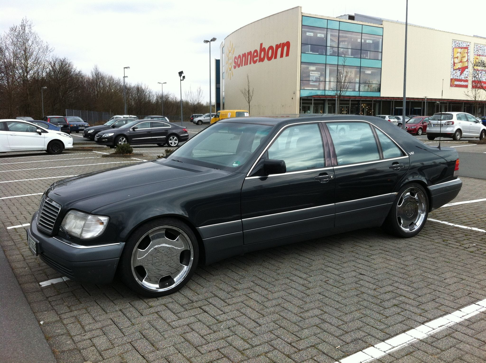 Mercedes S Class W140 Tuning 2 Tuning Mercedes W140