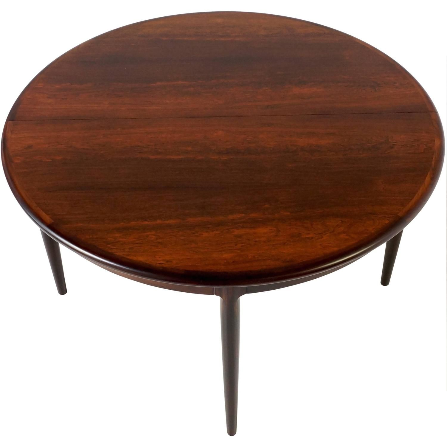 Rosewood Extendable Dining Table Niel Otto Moller 1 Kameleon