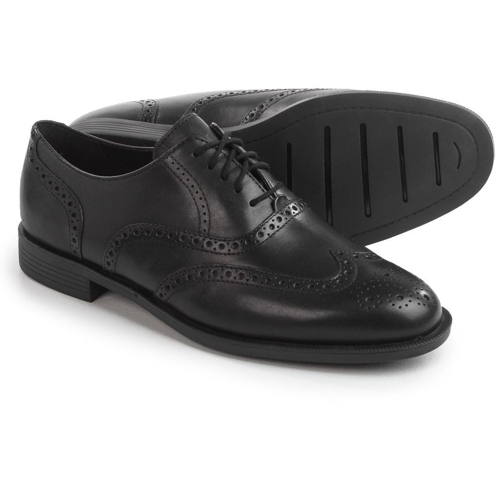 6f41ab812ed Cole Haan Dustin Wingtip II Shoes - Leather (For Men)Size 7 Black  fashion   clothing  shoes  accessories  mensshoes  dressshoes (ebay link)