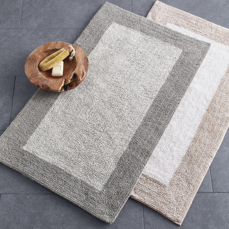 Organic Cotton Belgium Linen Bath Rug 24 X 40 The Company