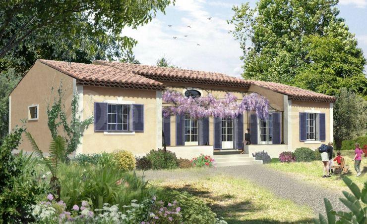 Plan de maison le mas provencal cabin pinterest mas provencal plans - Plan de maison provencale ...