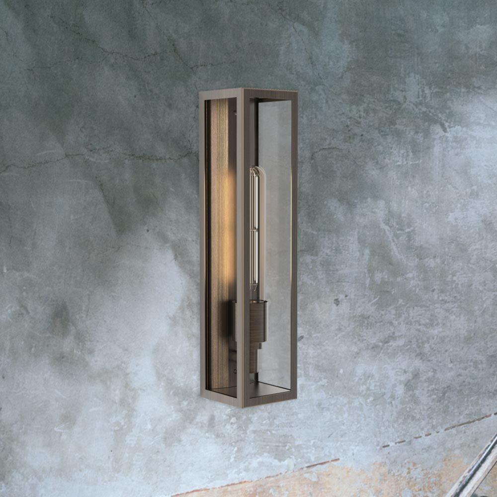 Tall box elongated outdoor wall light cl new pinterest