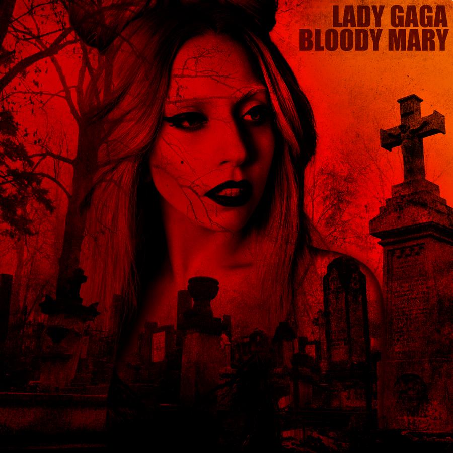 Lady Gaga – Bloody Mary (single cover art)