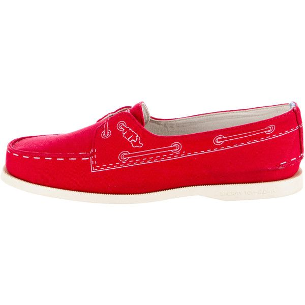 Pre-owned Band of Outsiders x Sperry Boat Shoes