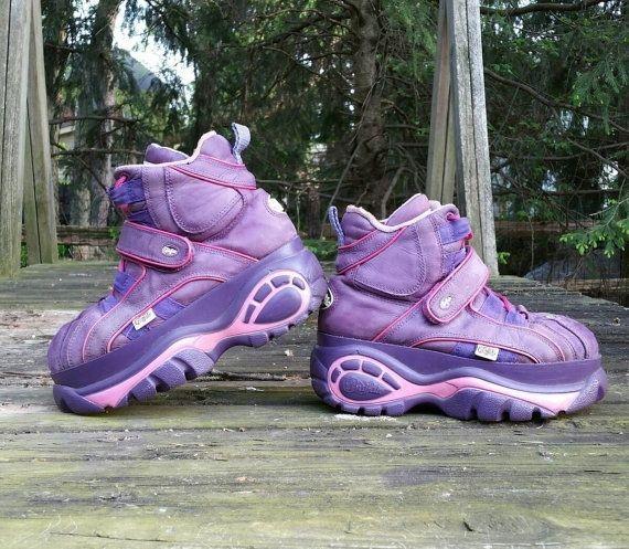 4c47eabe7 Vintage 90s Buffalo platform sneakers size 40 8.5/9 womens kawaii festival  | eBay