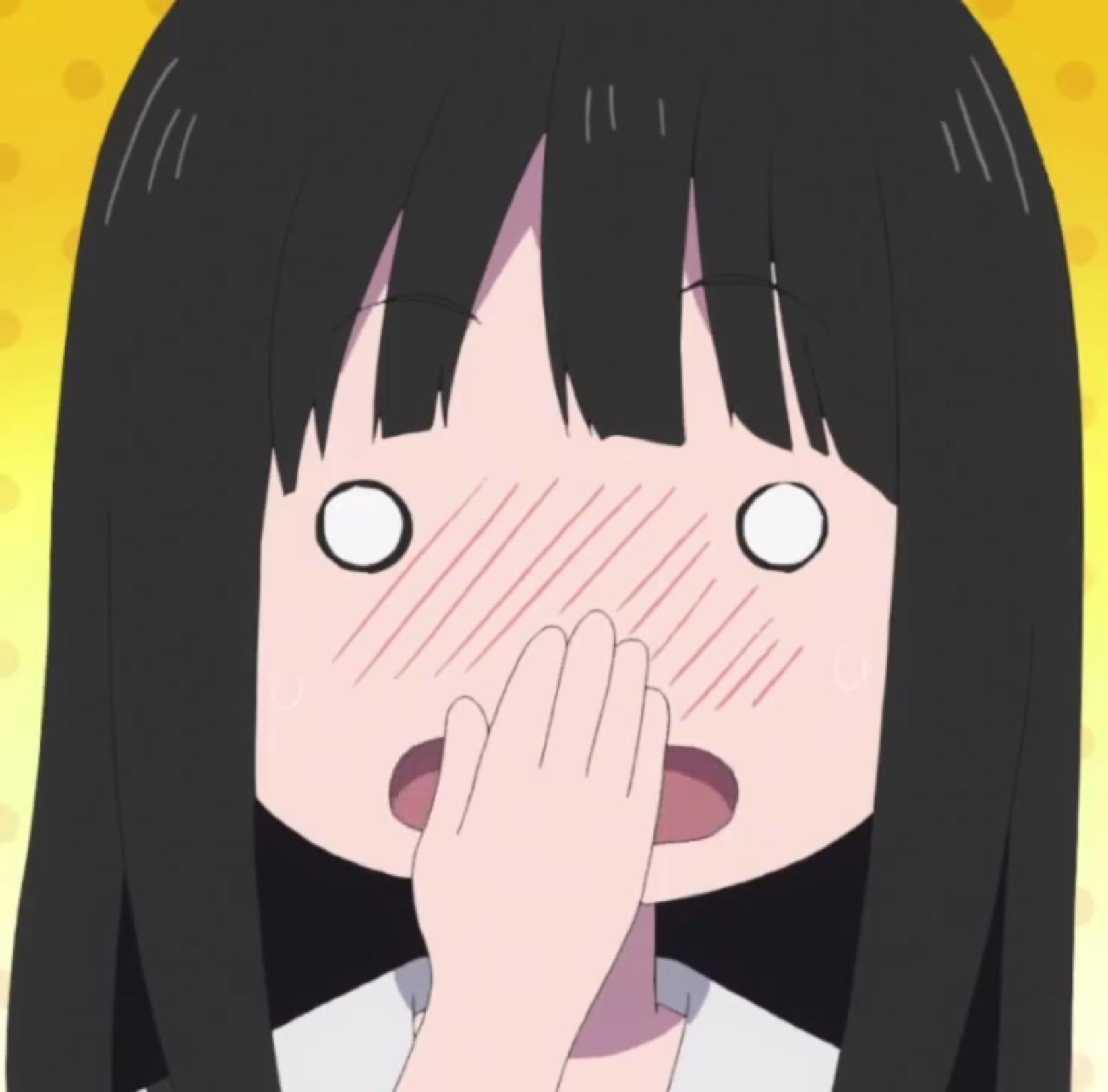 Anime Face Reaction Aesthetic Memes Meme Animemes Animeme Kawaii Funny Anime Face React In 2020 Anime Expressions Aesthetic Anime Anime Faces Expressions