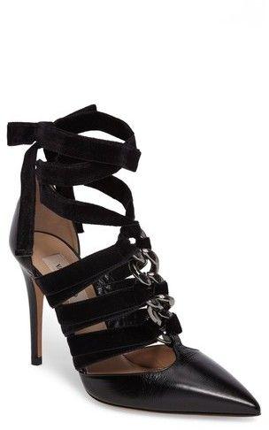 451bf704b988 Women s Valentino Garavani Velvet Rope Pointy-Toe Pump