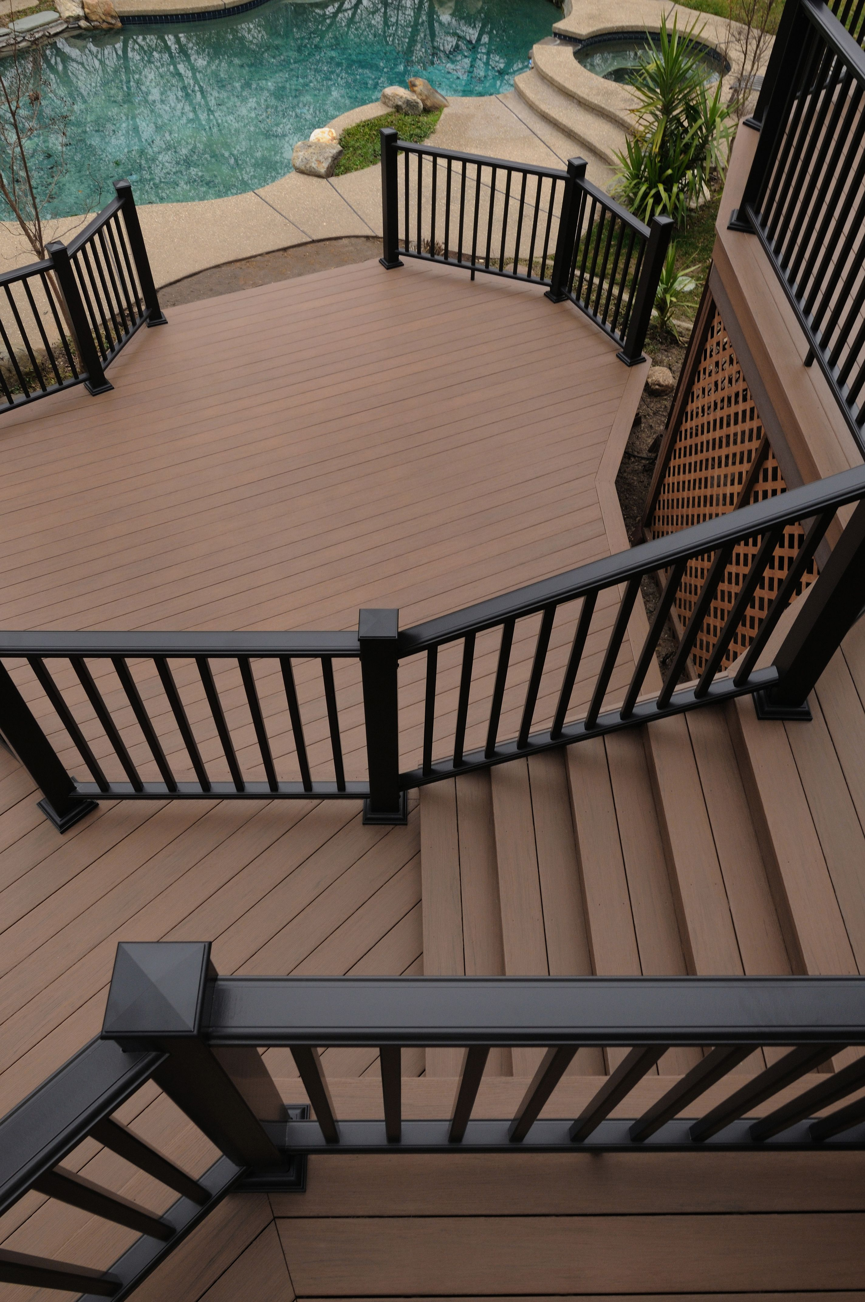 Azek Morado Deck Rail Diy Deck Deck Railings Deck Design
